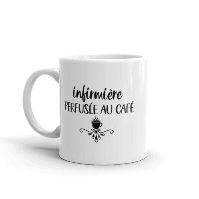 mug infirmière - perfusée au café
