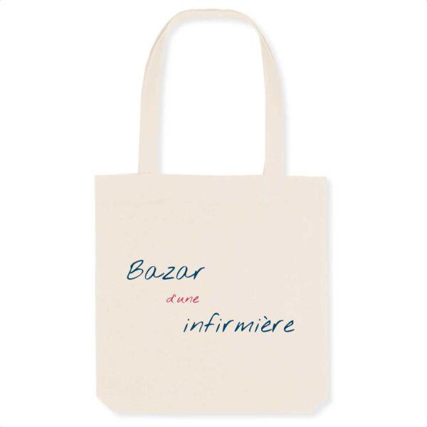 Tote bag infirmière - Bazar d'une infirmière