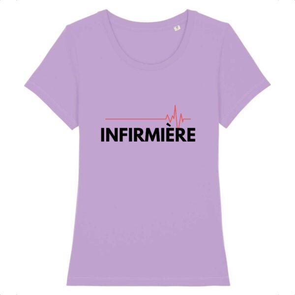 T-shirt infirmière - ECG infirmière