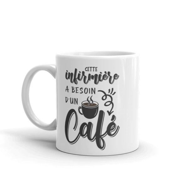 mug infirmière - besoin café