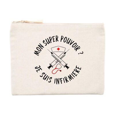Pochette infirmière - Super pouvoir