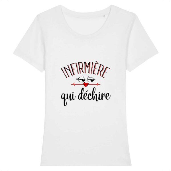 T-shirt infirmière - Infirmière qui déchire