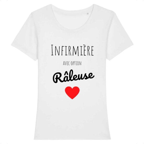 T-shirt infirmière - Option râleuse