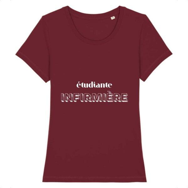 T-shirt infirmière - étudiante