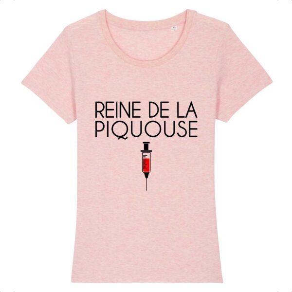 T-shirt infirmière - Reine de la piquouse