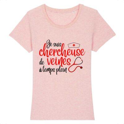 T-shirt infirmière - Chercheuse de veines