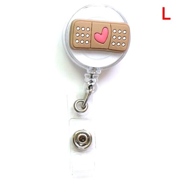 Porte Badge r tractable d infirmi re porte carte d identit de dessin anim porte cl 11.jpg 640x640 11