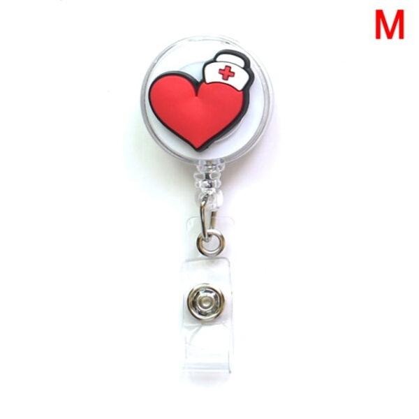 Porte Badge r tractable d infirmi re porte carte d identit de dessin anim porte cl 12.jpg 640x640 12