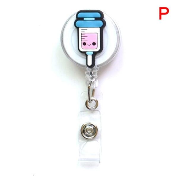 Porte Badge r tractable d infirmi re porte carte d identit de dessin anim porte cl 15.jpg 640x640 15
