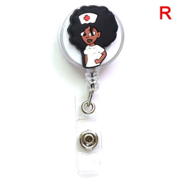 Porte Badge r tractable d infirmi re porte carte d identit de dessin anim porte cl 17.jpg 640x640 17