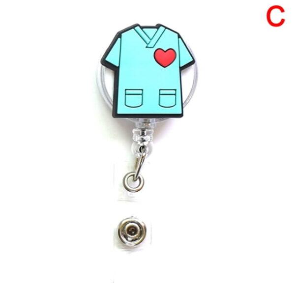 Porte Badge r tractable d infirmi re porte carte d identit de dessin anim porte cl 2.jpg 640x640 2