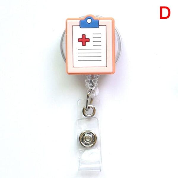 Porte Badge r tractable d infirmi re porte carte d identit de dessin anim porte cl 3.jpg 640x640 3