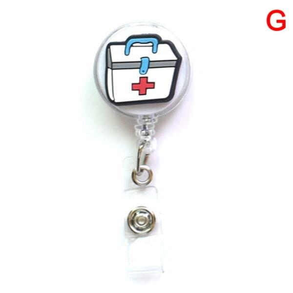 Porte Badge r tractable d infirmi re porte carte d identit de dessin anim porte cl 6.jpg 640x640 6