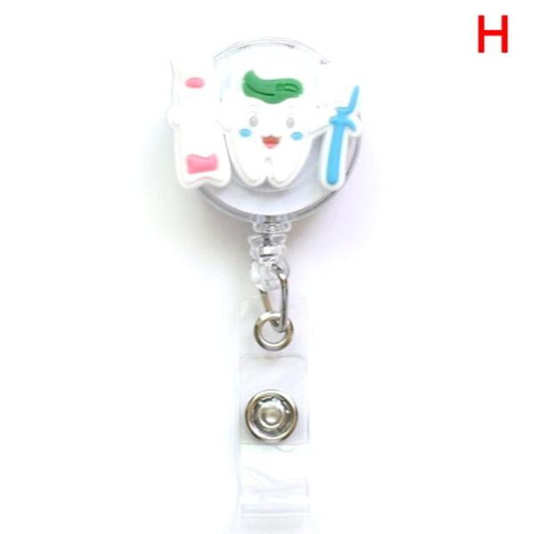 Porte Badge r tractable d infirmi re porte carte d identit de dessin anim porte cl 7.jpg 640x640 7
