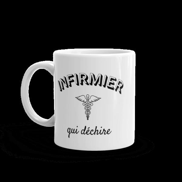 Mug infirmier - Infirmier qui déchire
