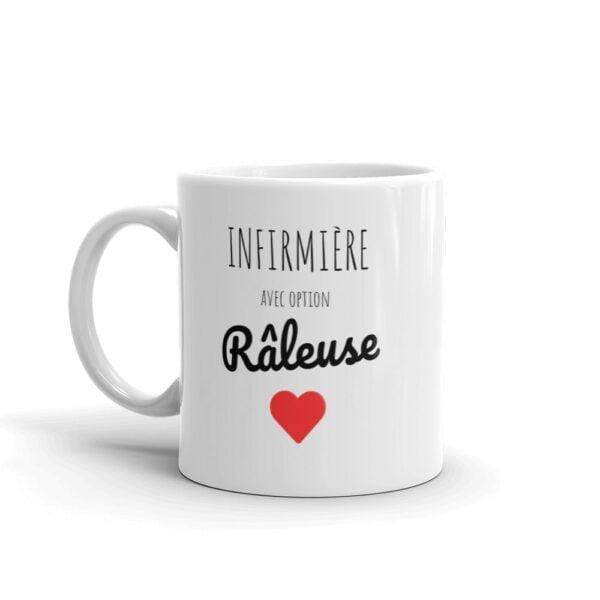 mug infirmière - option râleuse