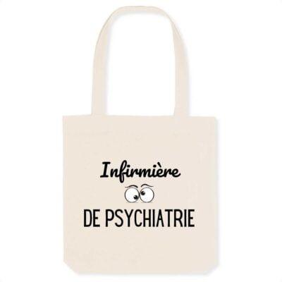 Tote bag infirmière - Infirmière de psychiatrie