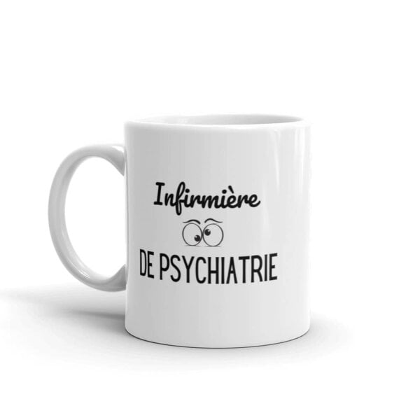 Mug infirmière - Infirmière de psychiatrie